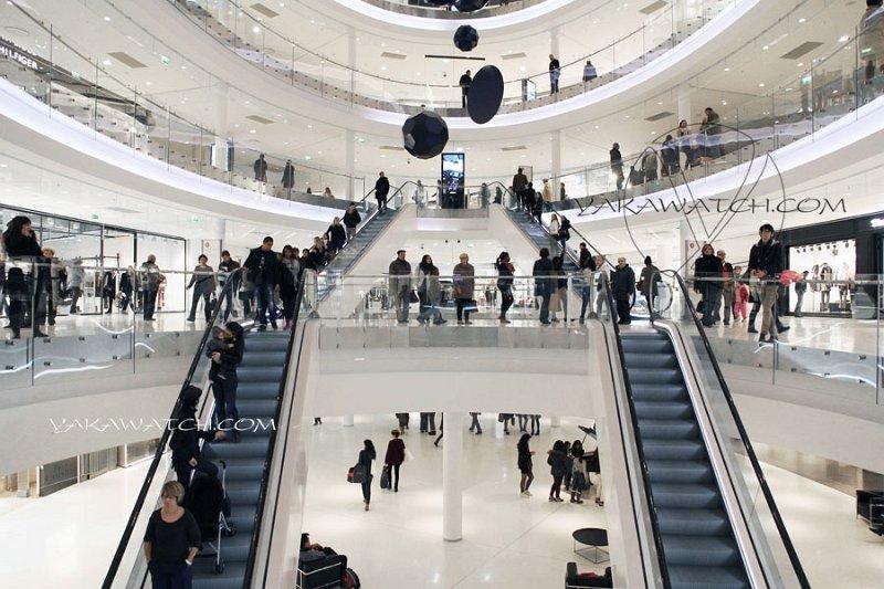 Beaugrenelle centre commercial du xxi me si cle ma plume webmag - Le centre beaugrenelle ...