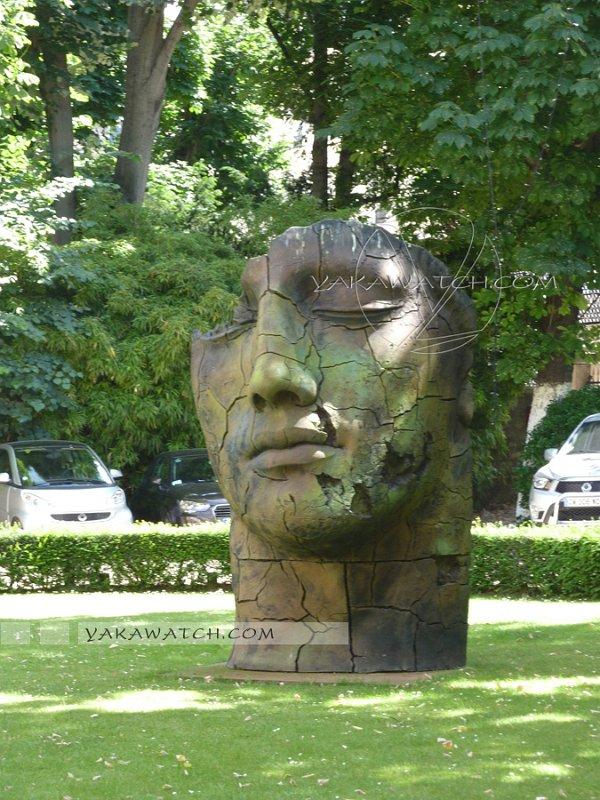 Jardins - Sculpture Igor Mitoraj - Apicius - Paris