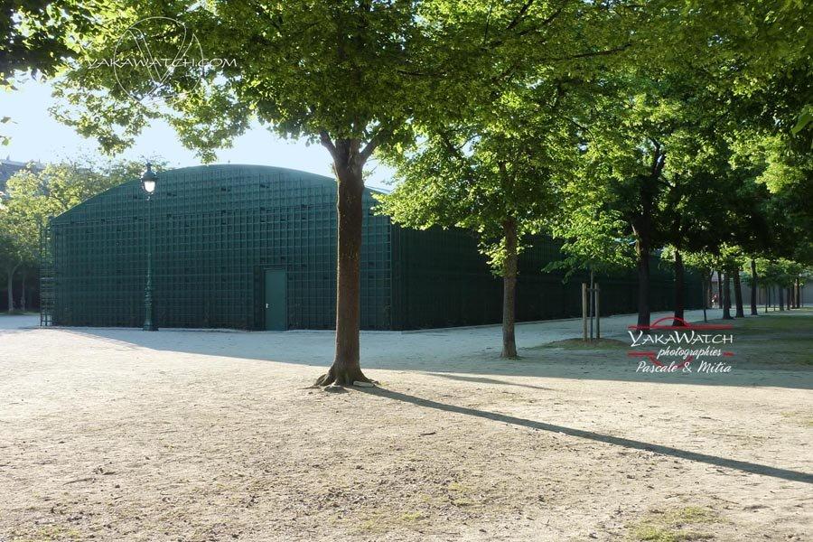 Le Jardin Technique du Grand Palais Ephémère - Photo Yakawatch