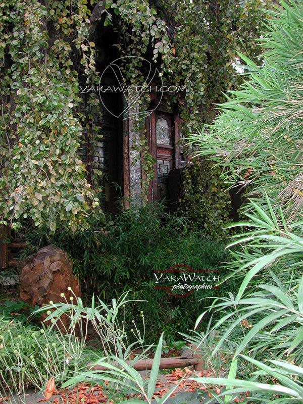 La Pagode, nichée dans la verdure