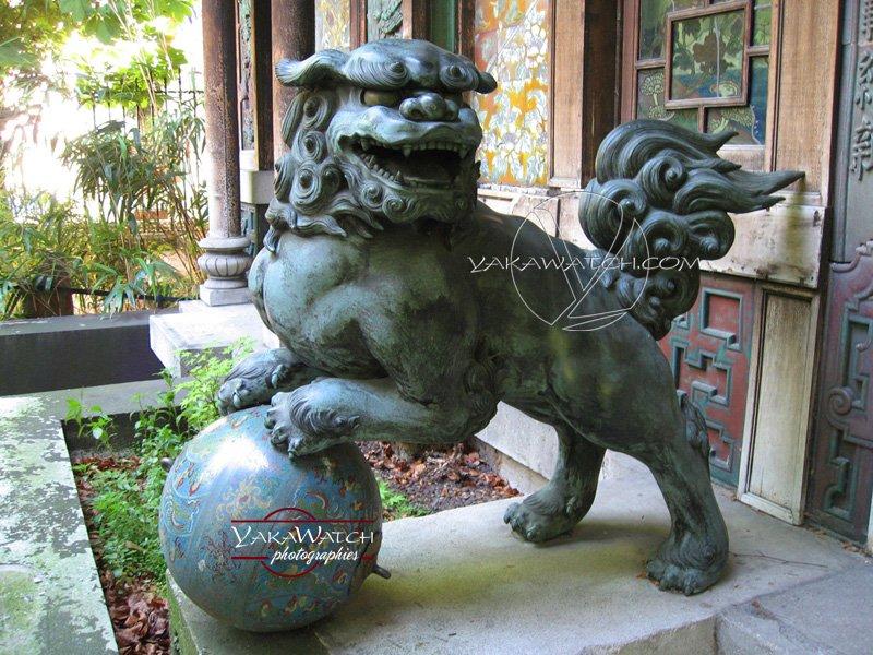 La Pagode : lion