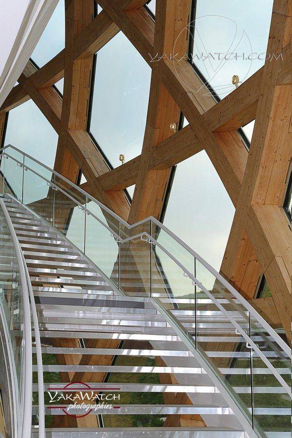 La Seine Musicale - Intérieur du dôme - Photo Yakawatch