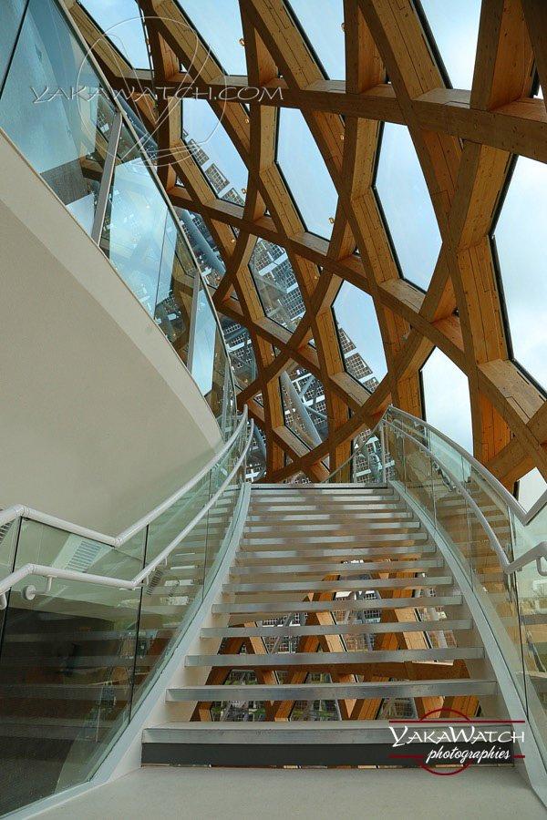 Escalier - La Seine musicale