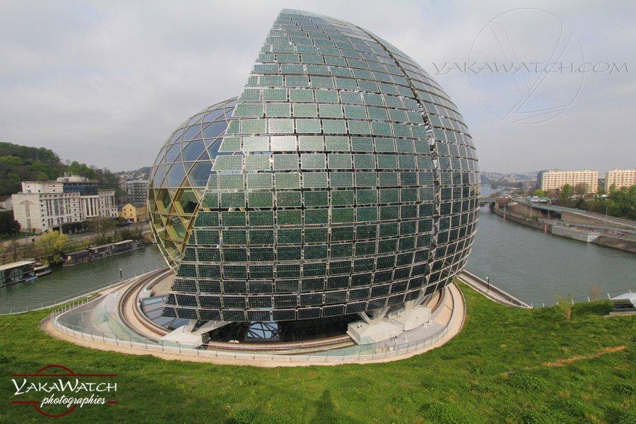 La Seine Musicale - Le Dôme et la Voile - Photo Yakawatch