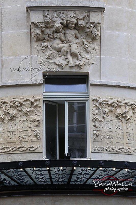 Seconde marquise de l'hôtel Lutétia