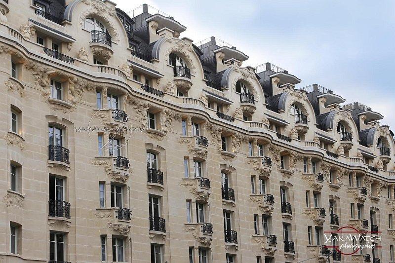 Les façades et toitures de l'hôtel Lutétia sont classées au titre des monuments historiques…