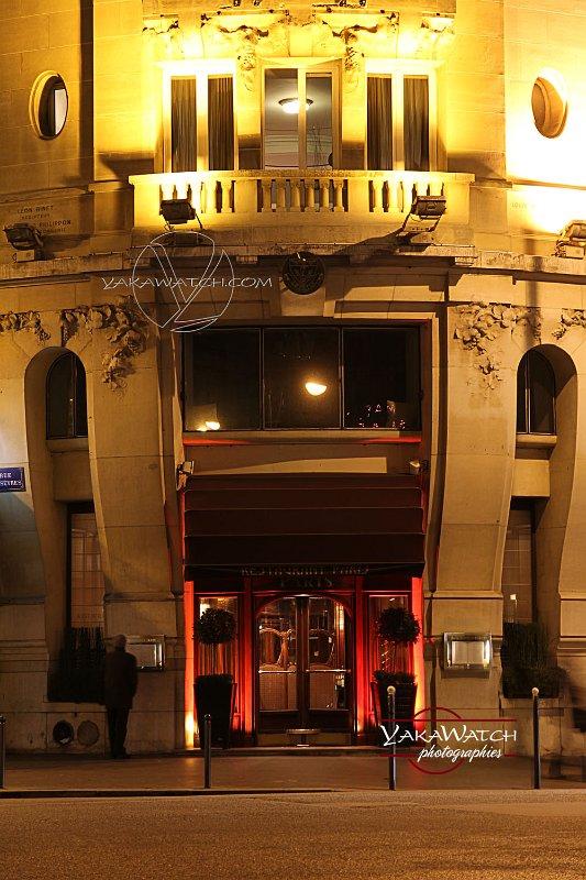 L'architecture du Lutétia lui a valu le surnom de 'paquebot parisien'