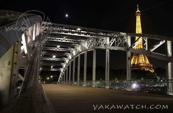 Passerelle Debilly et Tour Eiffel