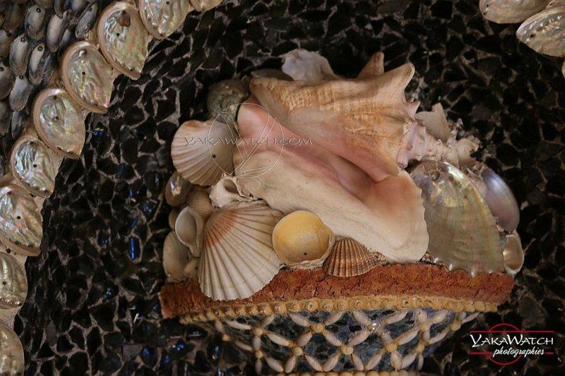 Médaillon de coquillages (détail) - Rambouillet