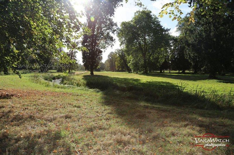 Le Jardin anglais du château de Rambouillet