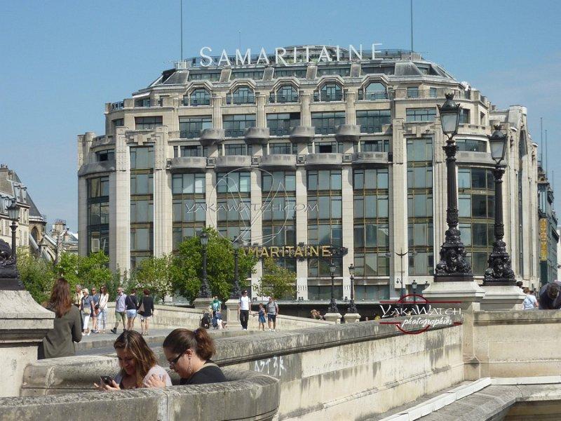 La Samaritaine - Immeuble Art Déco d'Henri Sauvage