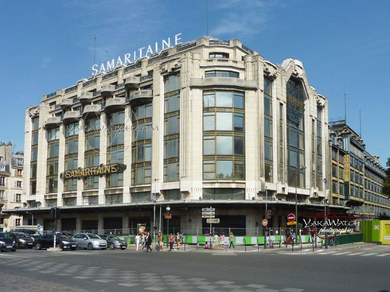 La Samaritaine, aout 2015 à Paris