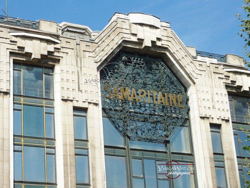 La Samaritaine - Immeuble Art Déco - Henri Sauvage Architecte - Fronton Smaritaine