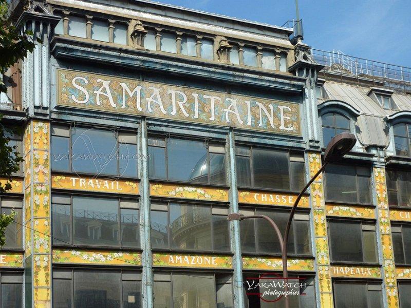 La Samaritaine - Immeuble Art Nouveau de Frantz Jourdain