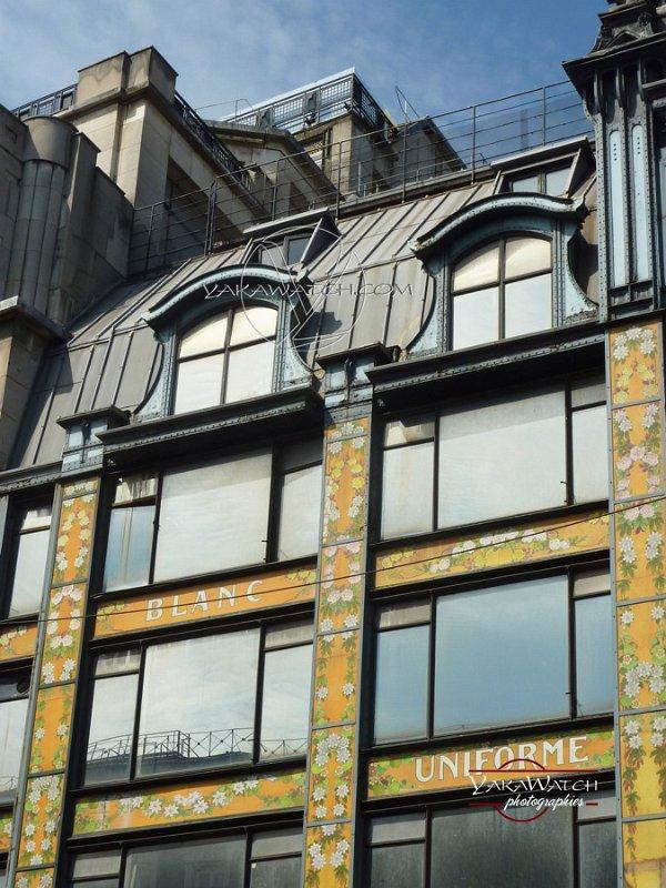 La Samaritaine - Immeuble Art Nouveau de Frantz Jourdain - Fenêtres