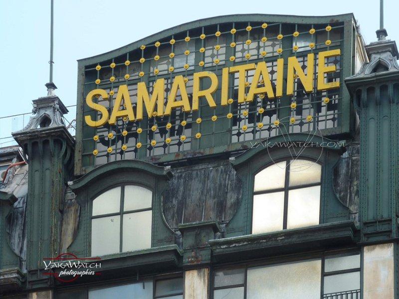 La Samaritaine - Immeuble Art Nouveau de Frantz Jourdain - Menuiseries métalliques