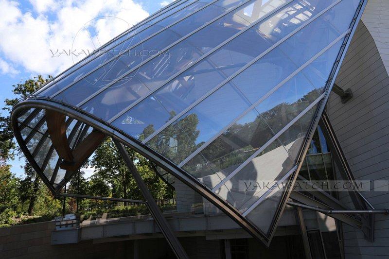 La Fondation Louis Vuitton - Bois de Boulogne - Paris