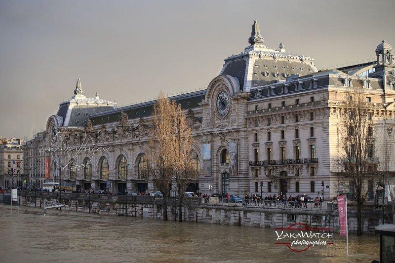 A Paris, le Musée d'Orsay a (presque) les pieds dans l'eau…