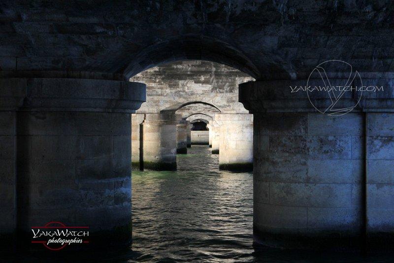 Sous pont Concorde