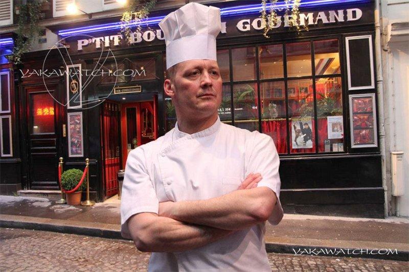 Chef du Petit Bouchon Gourmand