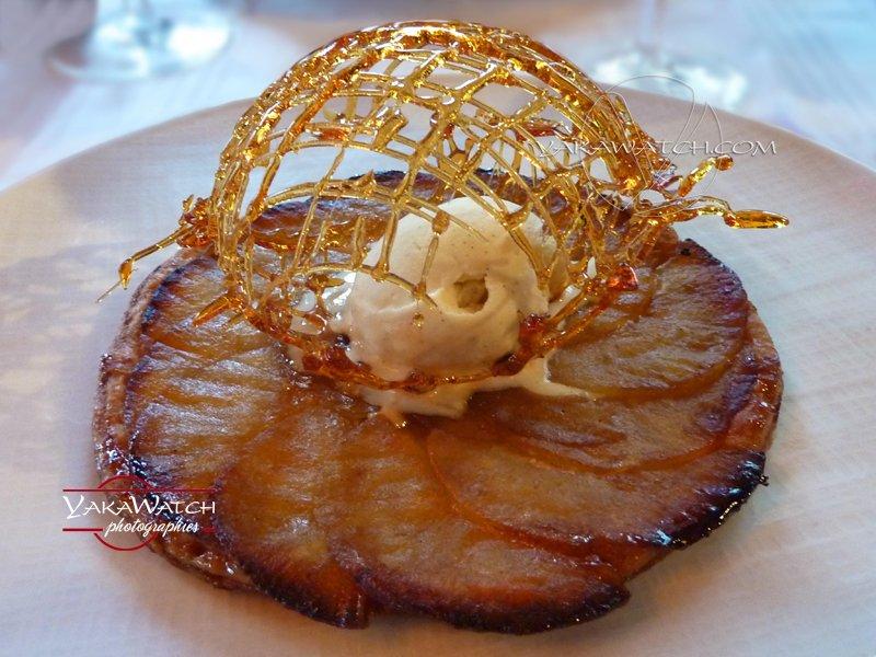 Dessert - Tatin Caramel - Bistrot de Breteuil