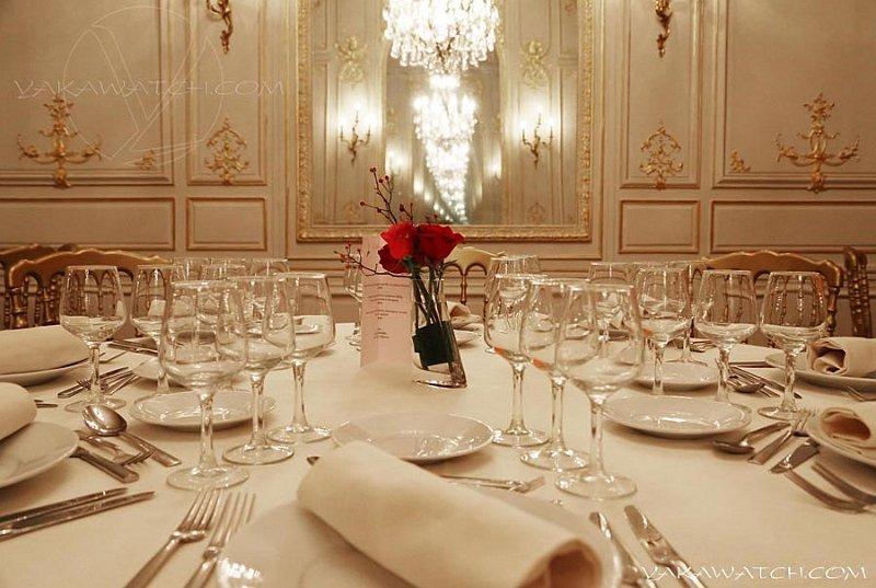 Restaurant, brasserie, traiteur, bar - Salon privé - Table dressée - Maison des Polytechniciens