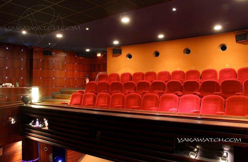 Salle de projection - Club de l'Etoile