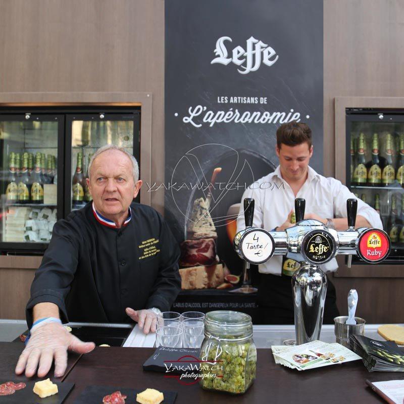 Leffe - Stand Leffe bière des Vignes - Salon Taste of Paris