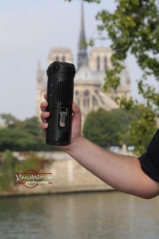 François et sa caméra 360 Z CAM S1