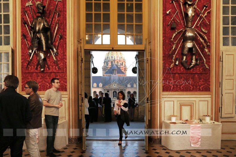 Salon d'honneur de l'hôtel des Invalides.