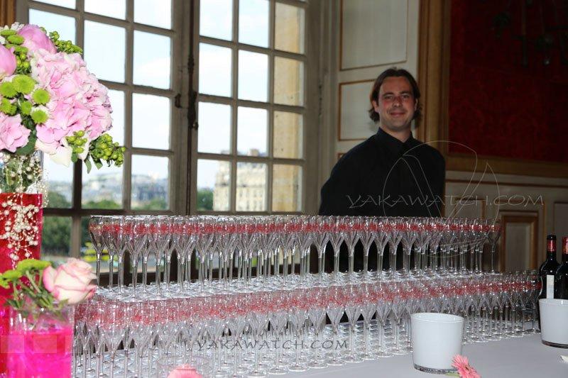 Restaurant, brasserie, traiteur, bar - Buffet à l'hôtel des Invalides - rallye des Princesses - Paris
