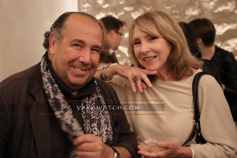 Max Chaoul et la fondatrice de Oui Magazine