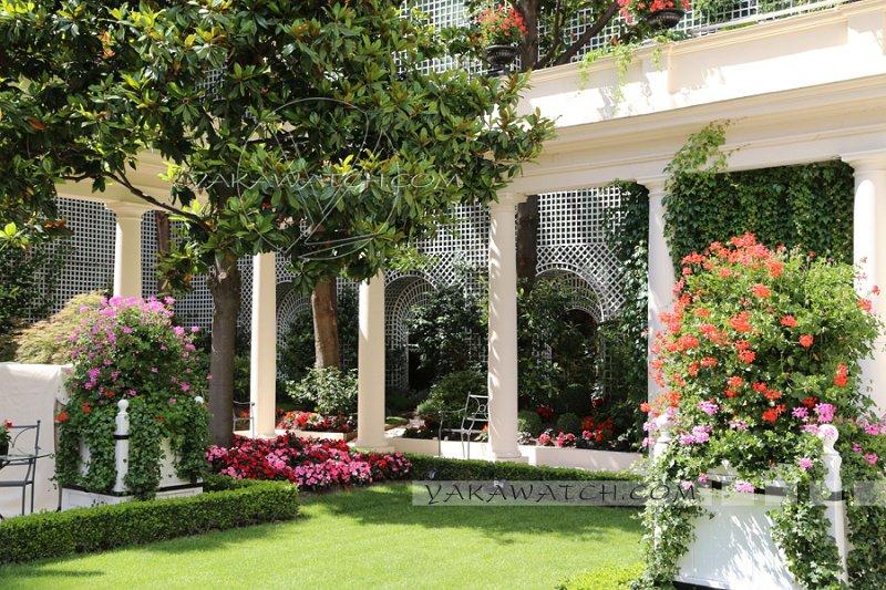 Mode beaut au jardin de l 39 h tel bristol les for Au jardin guesthouse