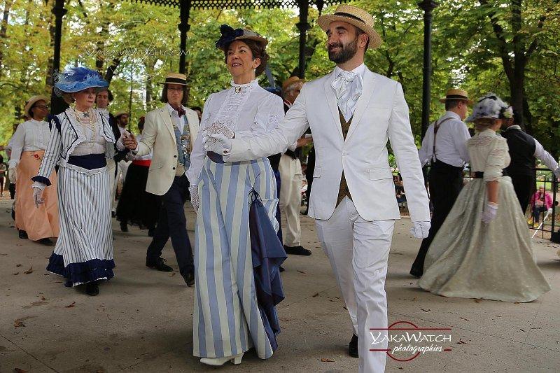 Bal 1900 au jardin du Luxembourg