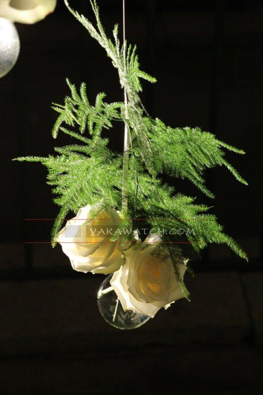 Fleur, coulisses du mariage