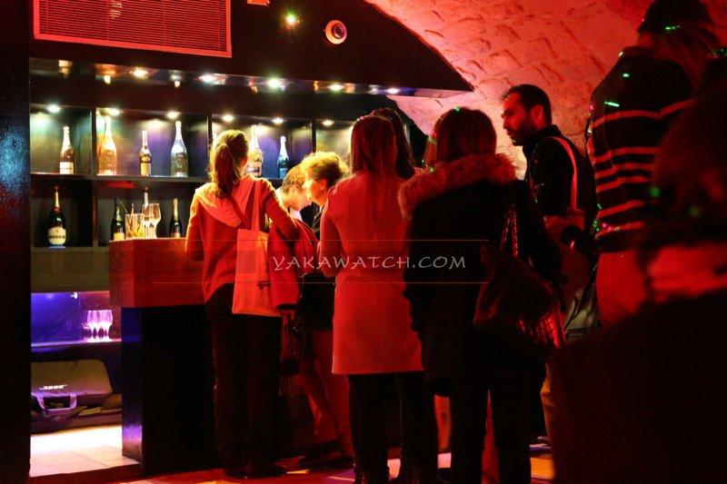 Bar à mojito éphémère à la maison des X