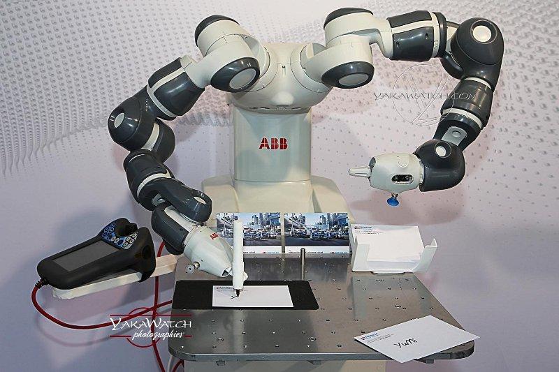 le robot rédacteur d'ABB
