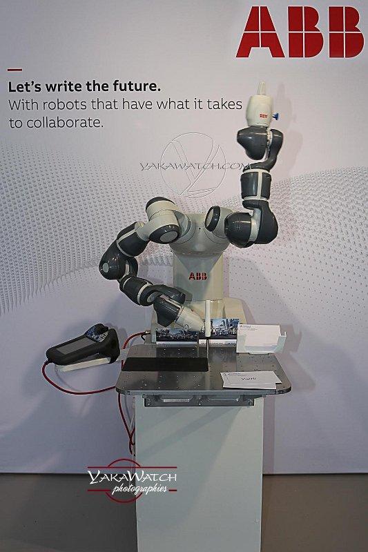 YuMI, le premier robot collaboratif de ABB Technologies