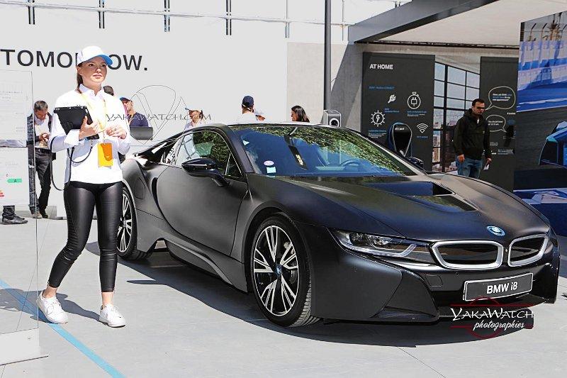 la BMW i8, voiture de sport du futur