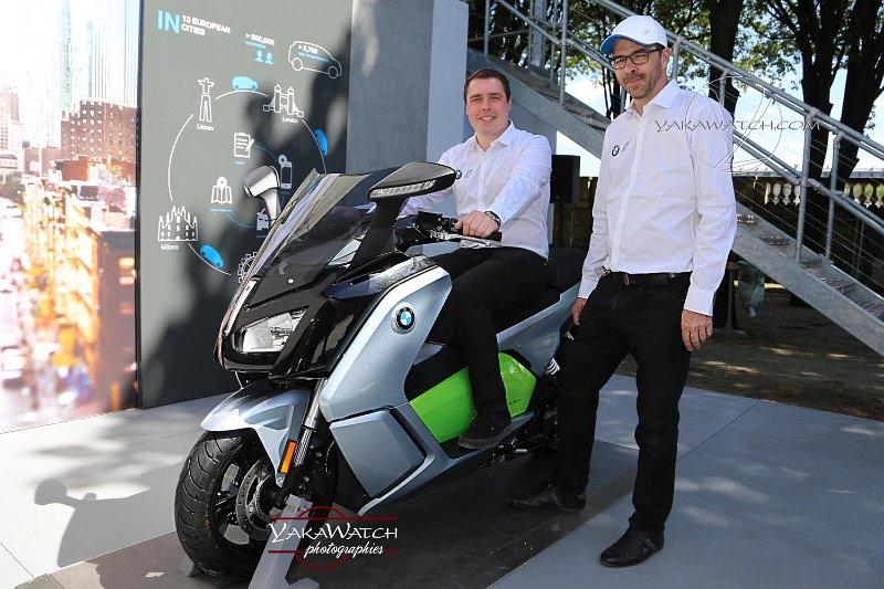 Le scooter électrique BMW C Evolution