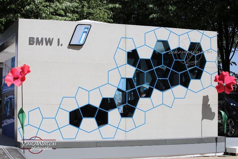 Le stand BMW au sein du eVillage Paris 2018
