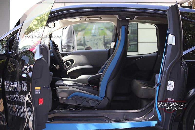 la BMW i3, véhicule 100% électrique pour la ville