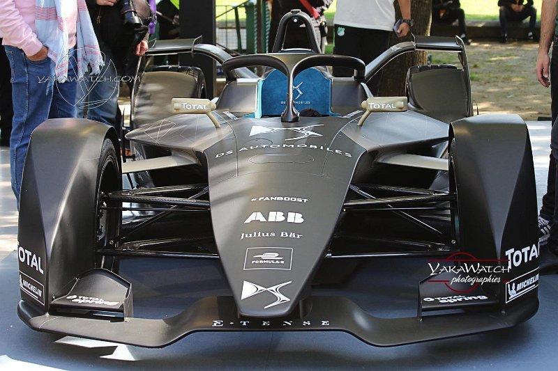 DS Automobile monoplace de course électrique