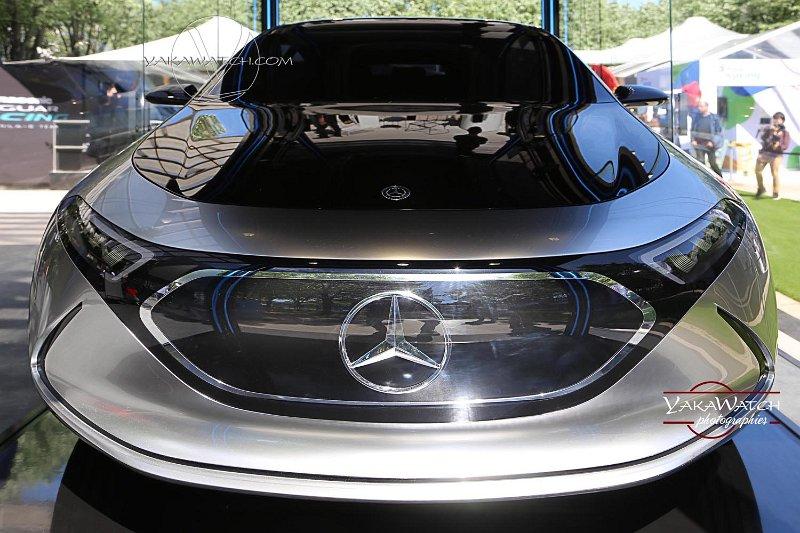 Sur son stand, Mercedes présentait son Concept Car