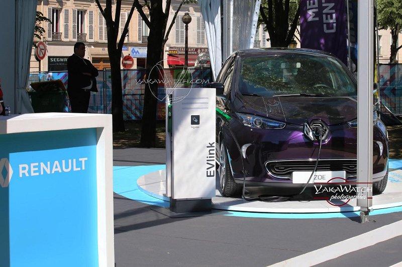 Renault électrique Zoé Star Wars série limitée et ePrix Paris 2018