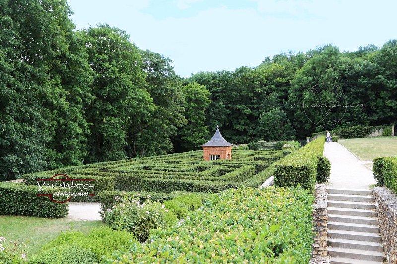Le labyrinthe et son pavillon chinois