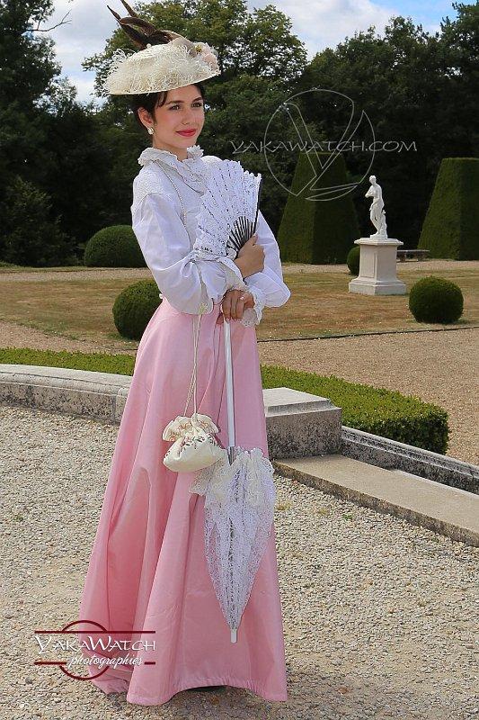 Reconstitution historique au château de Breteuil - Costume 1900