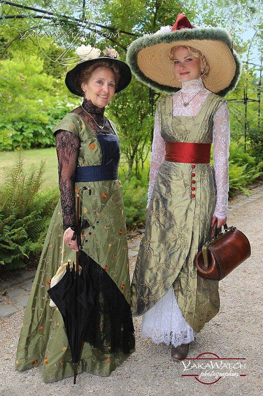 Reconstitution historique au château de Breteuil - Costumes 1900