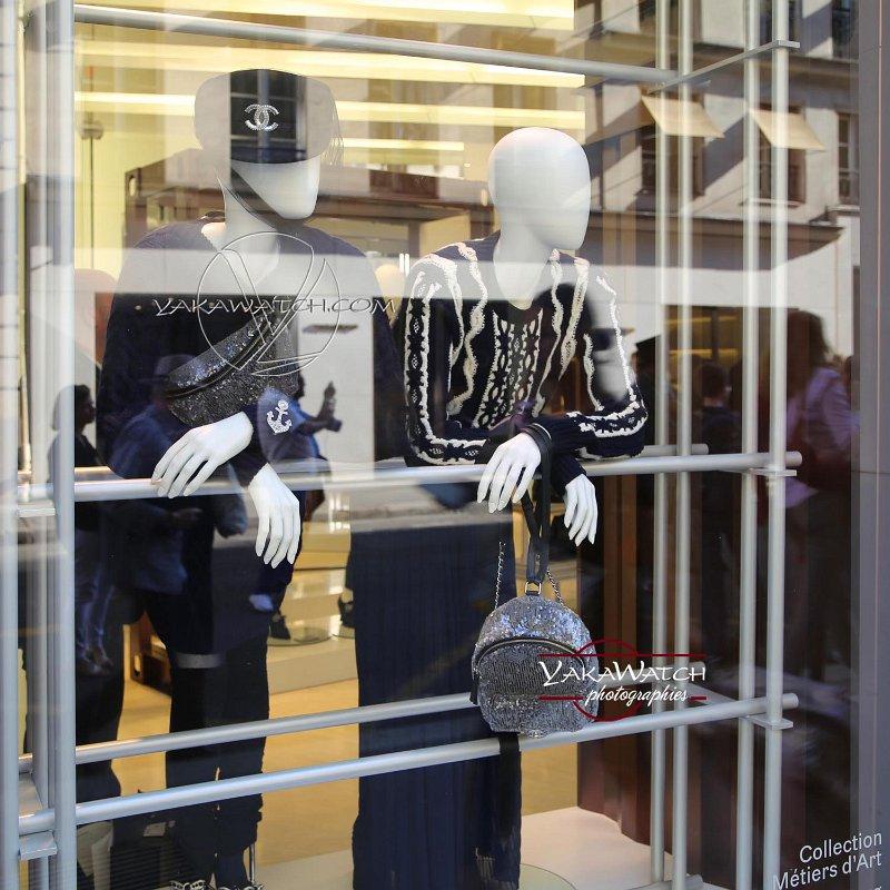 Vitrine Chanel,  Faubourg Saint Honoré