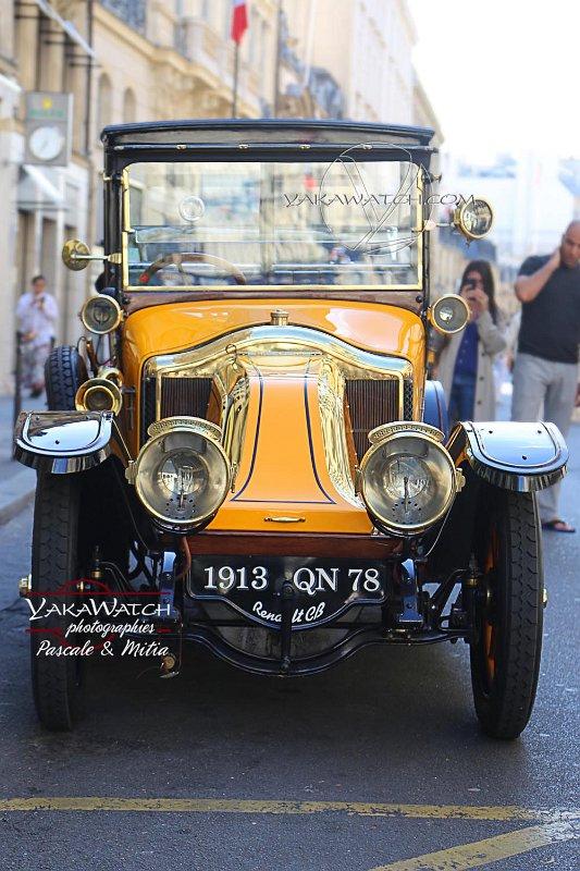 Summer Time rue du Faubourg Saint Honoré- Renault Vintage
